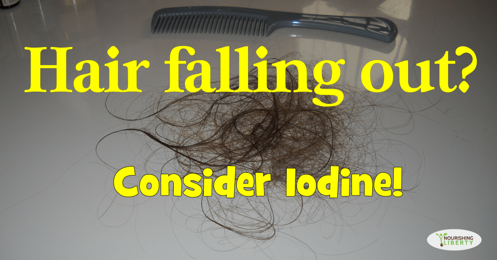 Is your hair falling out? Mine was -- I tried iodine and now my hair is thick and healthy!