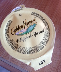 butter golden harvest whipped spread