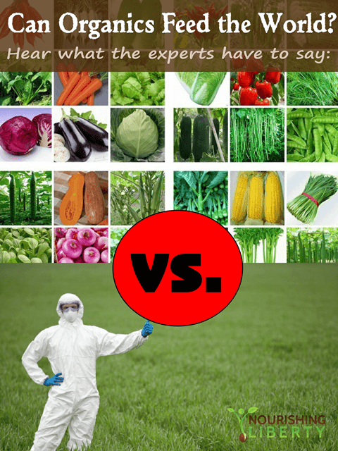 Can organics feed the world? Hear what the experts have to say: