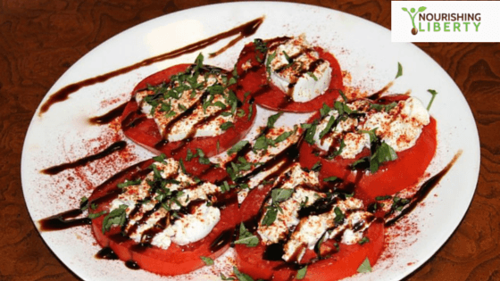 Tomatoes... paprika... goat cheese... oh my!